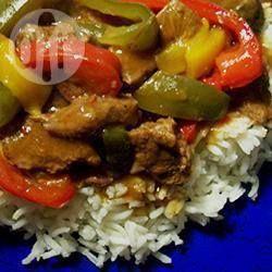 Rindfleisch Geschnetzeltes aus dem Slow Cooker @ de.allrecipes.com