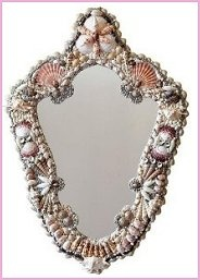 mermaid shell mirror...i like it...like a fairytale