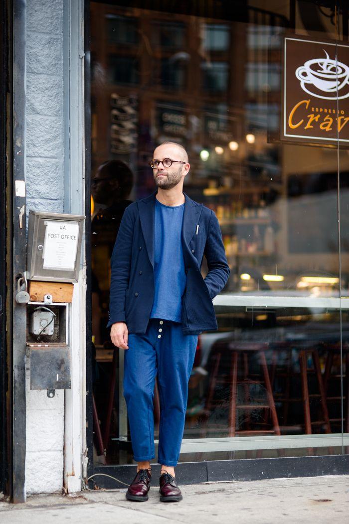 Angelo Flaccavento Sunnei Lardini An Unknown Quantity New York Fashion Week Street Style Blog