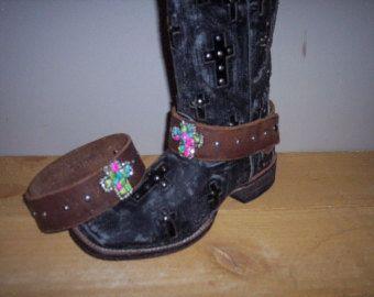 Schoen sieraden, Decor van de Boot, Boot Bling, Boot Wraps, Boot accessoires. Voor Western Boots, Ugg laarzen, Fashion laarzen. (paar) BW132