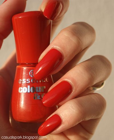 Casual Spark: Essence I'm so very - swatch