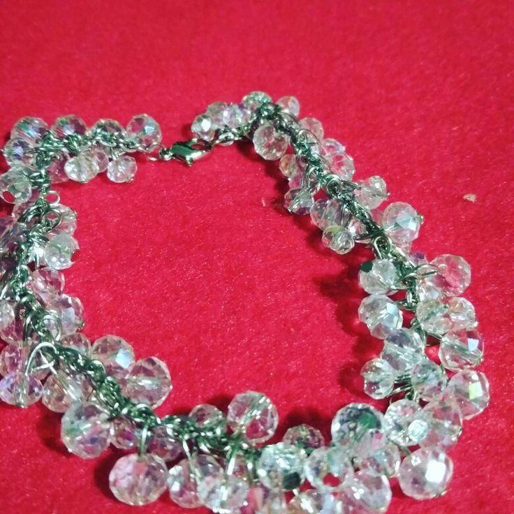 Bracelet full chrystal ceko