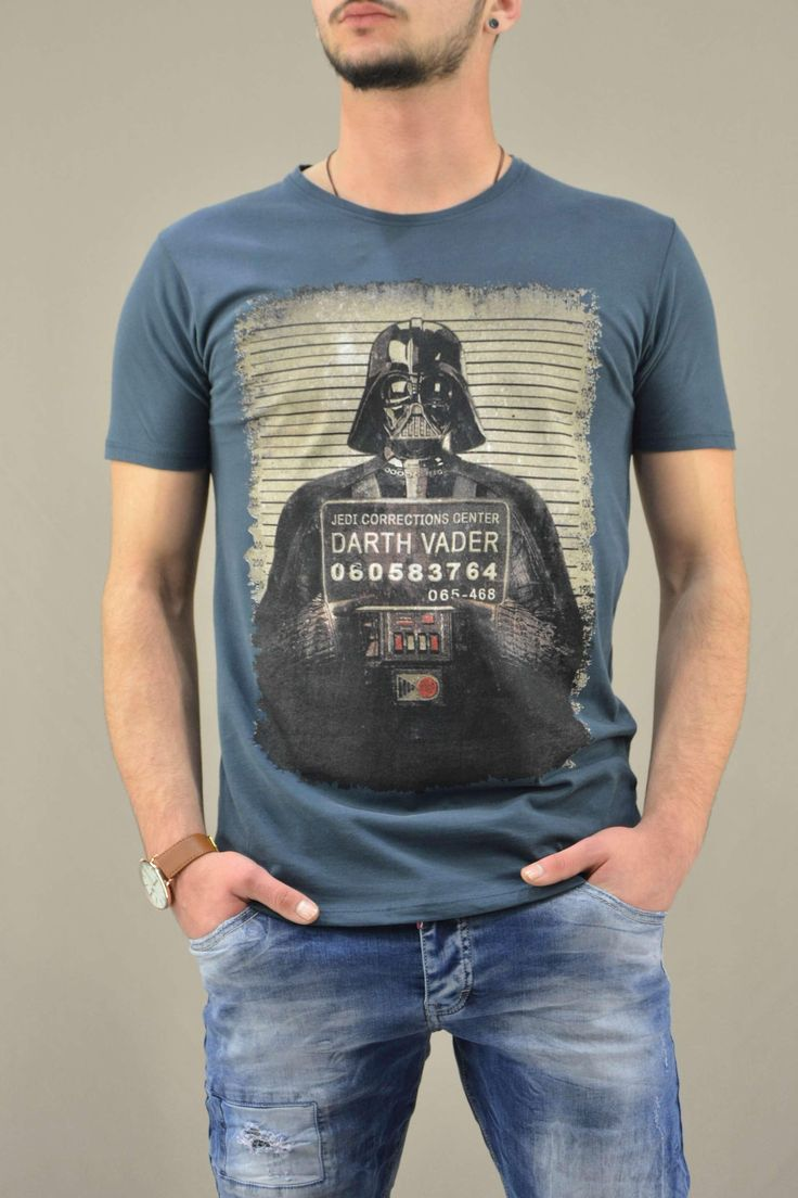 Ανδρικό t-shirt Star Wars Darth Vader MPLU-0823-pe | Άνδρας