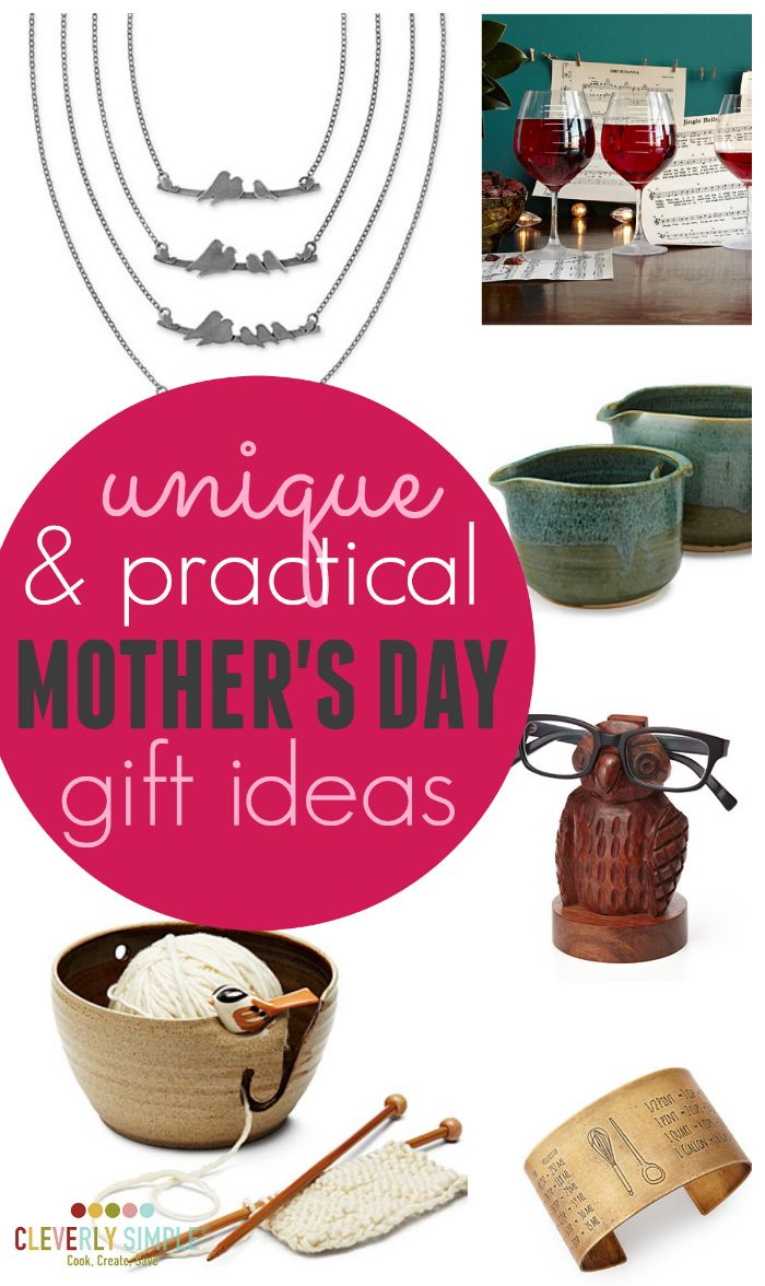 Are you looking for something unique but yet practical for mom this Mother's Day? Here's some truly unique Mother's Day gift ideas!