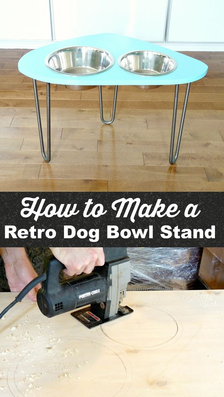 How To Make A Raised Pet Feeder