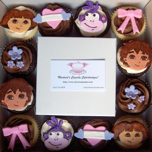 Dora cupcakes-party March 4