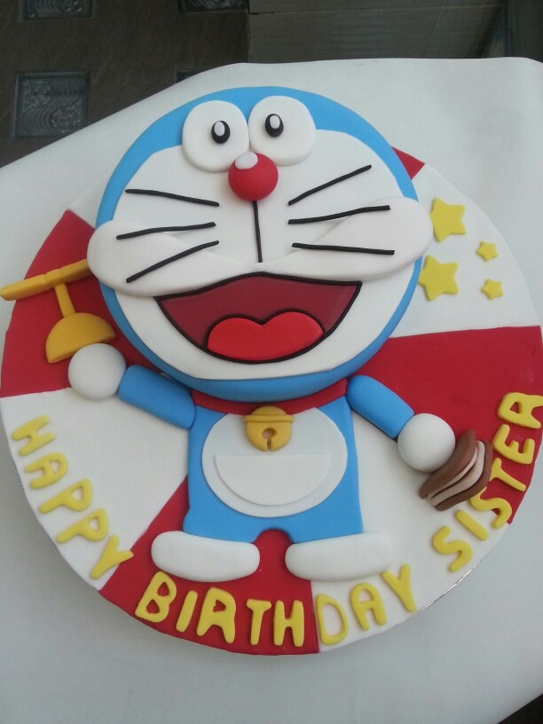Cake Designs Cartoon : 44 best images about Doraemon cake on Pinterest Birthday ...
