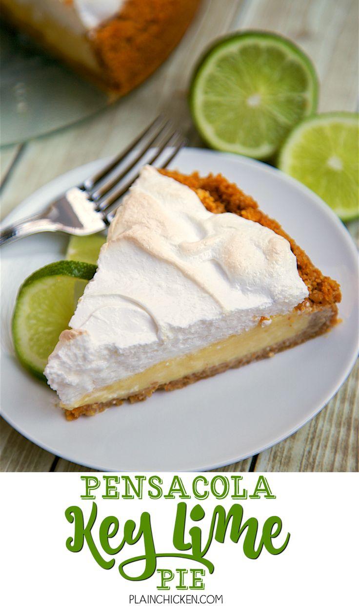 Key Lime Pie Recipe Meringue Food Network