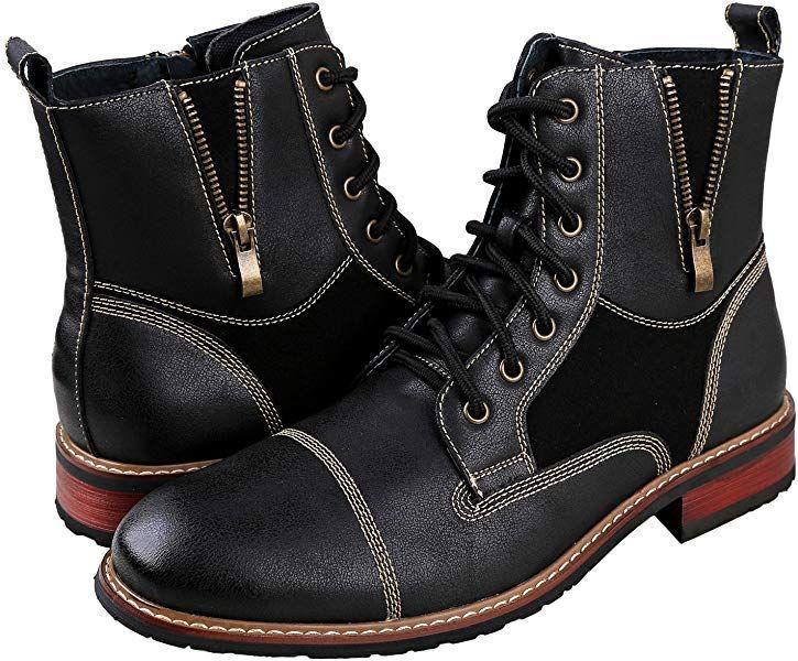 b9373ab9f3325 Amazon.com | Ferro Aldo Andy Mens Ankle Boots | Combat | Lace Up ...