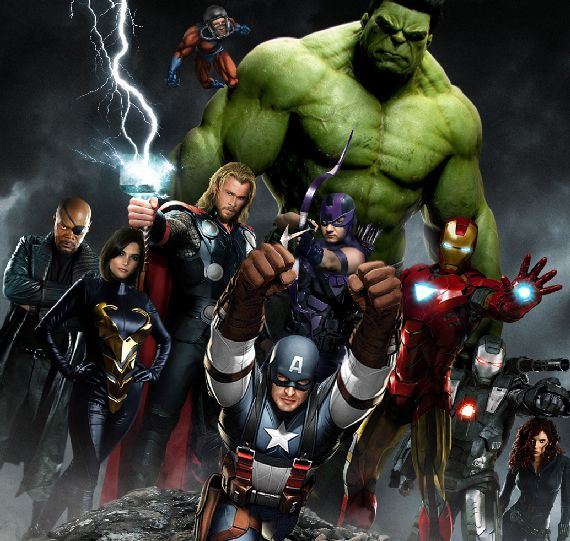 This is an image from #Marvel's The Avengers, just today #Disney announced a sequel.