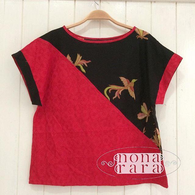B150616 - IDR175.000 Bustline : Free Size ( Fit To M ) Fabric : Batik Dobi Solo