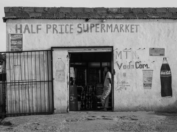half price supermarket // mamelodi, lusaka - south africa by Pamela Ross