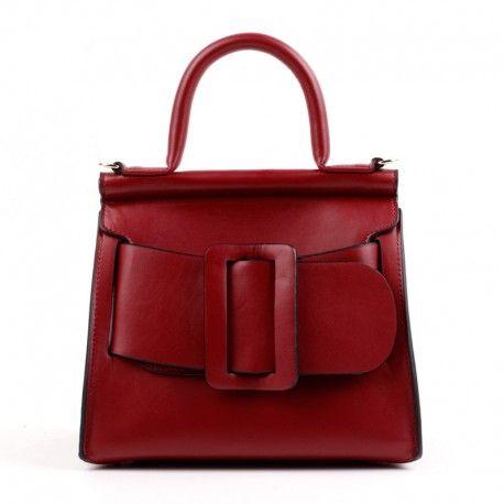 d4827bd974 Eldora Genuine Leather Tote Bag Dark Red 76364  handbag  HandBags   handbaglover  handbagimport