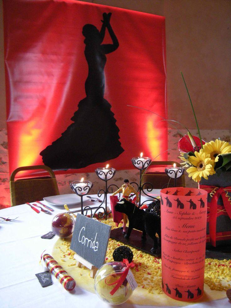 Decoration Espagnole Pour Mariage : Decoration mariage espagnol