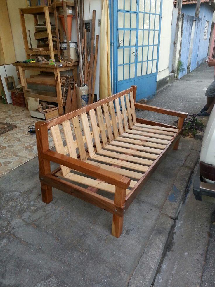 Sof r stico madeira de demoli o meus m veis for Modelos de barcitos hecho en madera