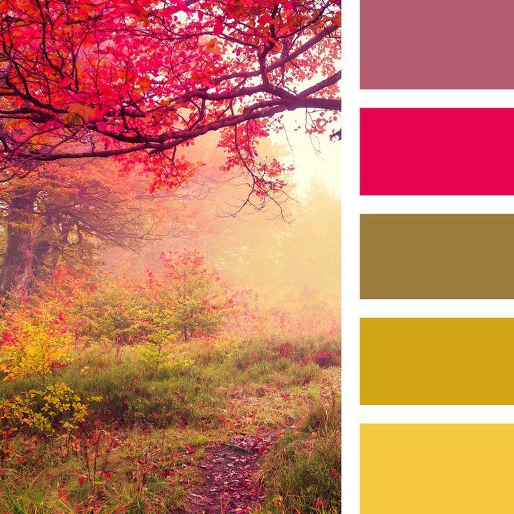 Палитра осени: «Осень художница, осень певица...» - Ярмарка Мастеров - ручная…