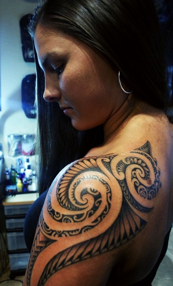 Coole Gave Polynesian Tattoo's - Tatoeages