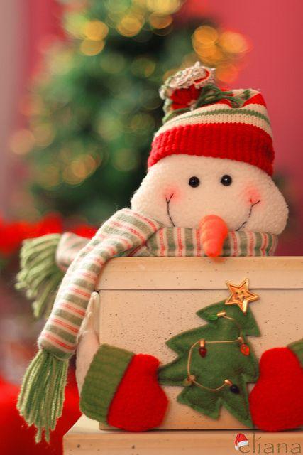 My favorite Christmas symbol=snowmen