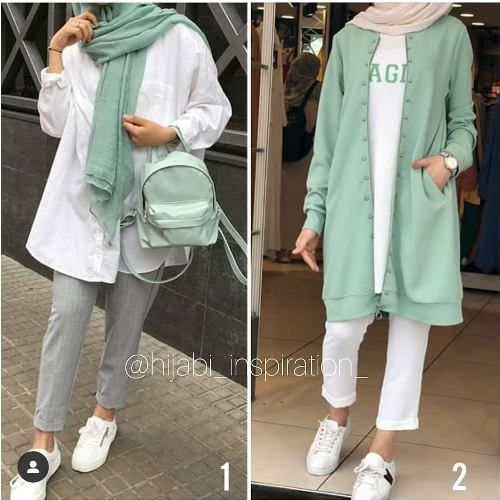 Light and comfy hijab summer wear