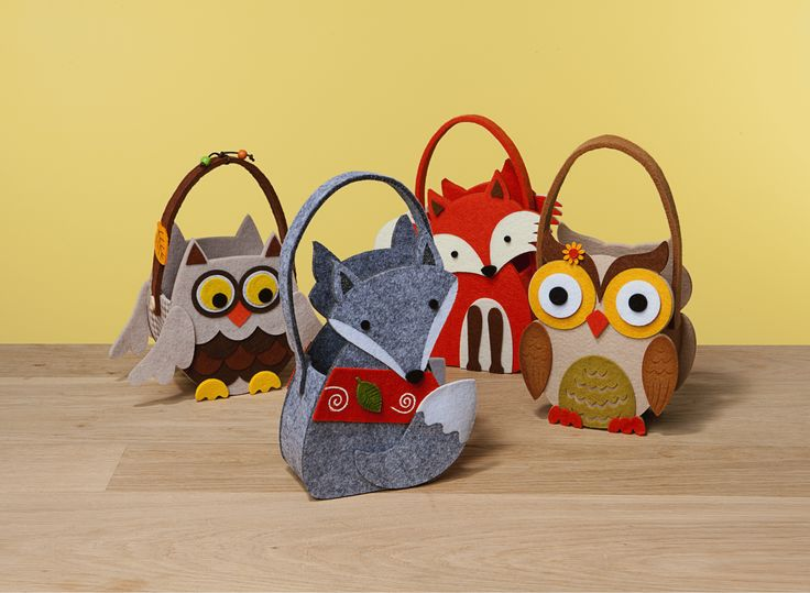 Owl or Fox decorative felt bags. Could be great for Easter for the kids but you better get them quick because they won't still be in stores at Easter time. These cuties are only $6 each from The Reject Shop.