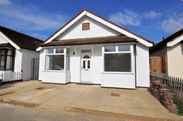 We are pleased to be offering this REFURBISHED and EXTENDED detached bungalow which now has the benefit of modern day open plan living. Situated within easy reach of both Staines and Egham town centres. There are three double bedrooms including the master bedroom which has a new en suite shower room, new family bathroom with bath and separate shower,  new gloss white fitted kitchen with Whirlpool appliances which is open plan to the spacious living room. Bi folding doors lead out from the…