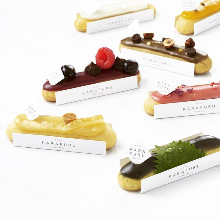 """Michael Liu on Instagram: """"It doesn't matter if you're a tea or coffee drinker. Each eclair is designed with a beverage counterpart in mind; Sakura Rose eclair with our Sencha or Cappucino with the Gianduja eclair. Ask our karafuru staffs for recommended pairings! Oh, our teas are from #Lupicia and coffees, #UCC! #karafuru #karafurudesserts #eclairs #tea #the #salondethe #sgcafes #patisserie #eclair"""""""