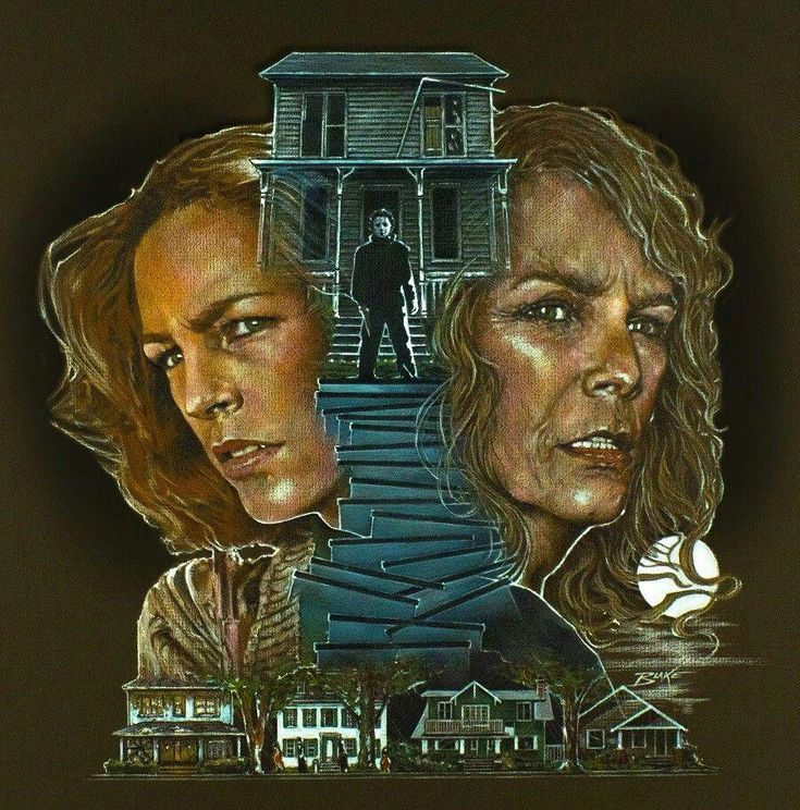 Jamie Lee Curtis as Laurie Strode • Halloween (1978/2018