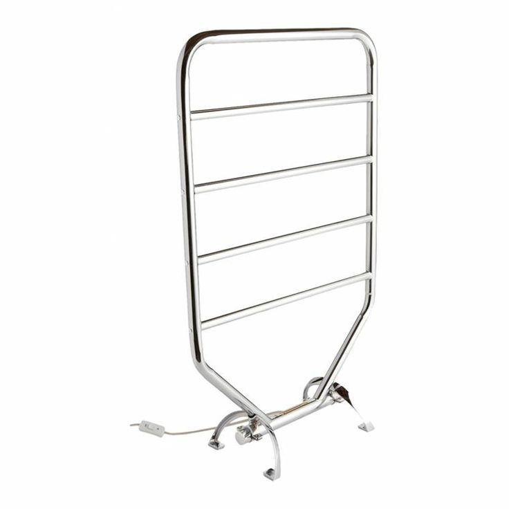 Traditional Towel Warmer Rack in Chrome