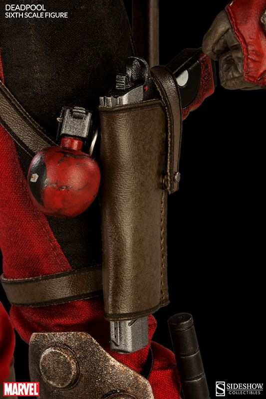 Though its not based on the Deadpool we'll see in the 2016 movie, you likely won't care when you get your eyes on this incredible new Sixth Scale Action Figure from Sideshow Collectibles! Based on the comic book version of the Merc With A Mouth, it comes with a variety of accessories and more...