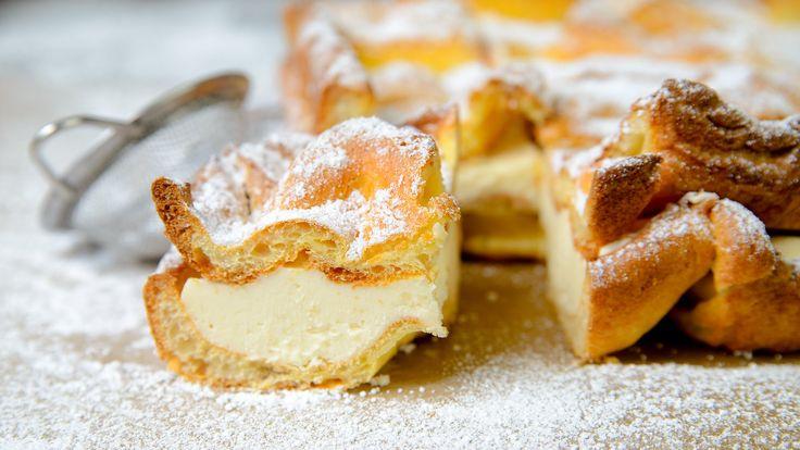 Karpatka video recipe. Karpatka is a Polish Carpathian Mountain cream cake. Check my video recipe for vanilla slice or millefeuille.