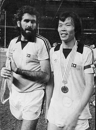 Santokh Singh and Soh Chin Aun back in 1980