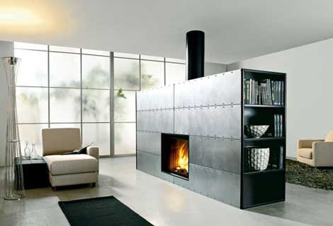Contemporary Fireplaces from Edilkamin