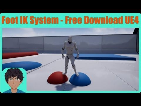 1) Advanced foot IK for Unreal Engine 4 - (100% Free