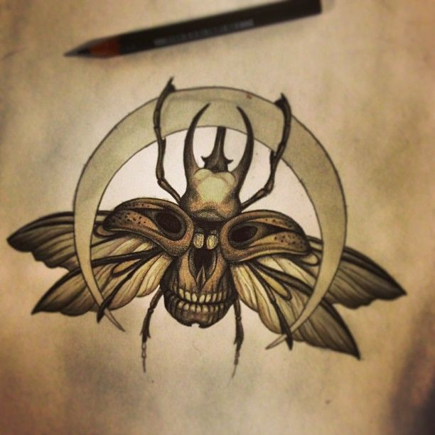 I believe I have found my next tattoo.  This is by, Shaun Voluntaryist Beaudry, although this is before he has added ink. I just LOVE this!