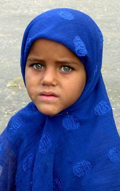 Pretty green eyes. Giza, Egipto.
