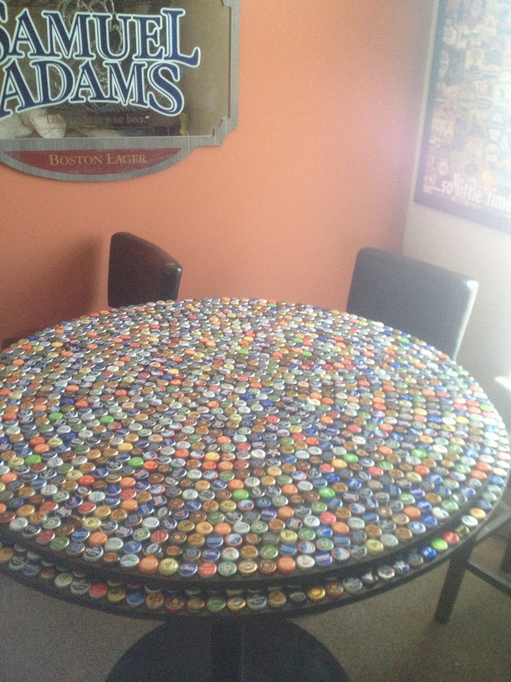 1000 images about beer cap bar table on pinterest make