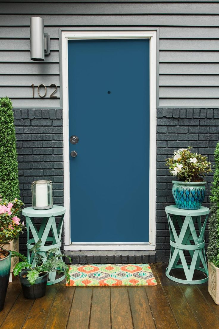 Door Painting Ideas 97 best foyers, porches + front doors images on pinterest | front