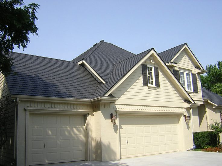 Best Davinci Roofscapes Single Width Synthetic Slate Roof 400 x 300