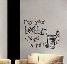 may your bobbin always be full!