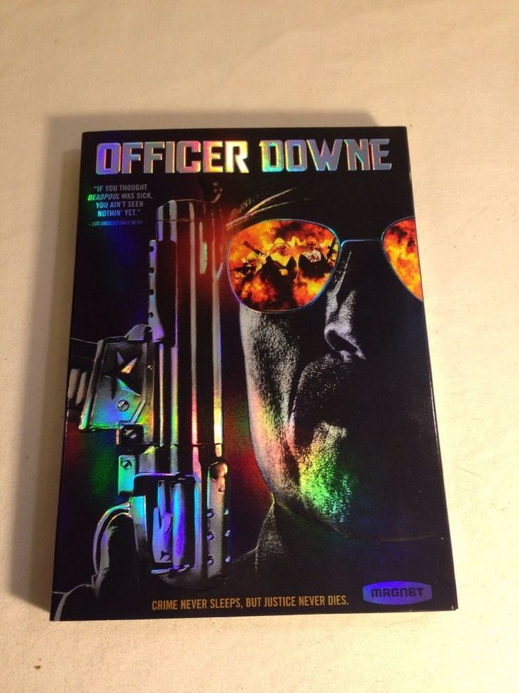 Officer Downe DVD with slipcover  Tyler Ross, Kim Coates