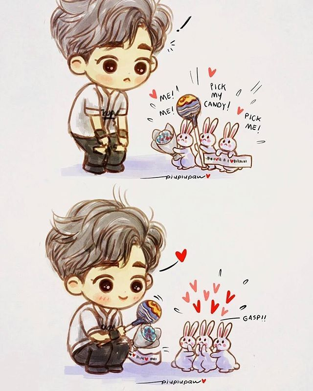 Suho fanart from an exo concert <3 SO cute!