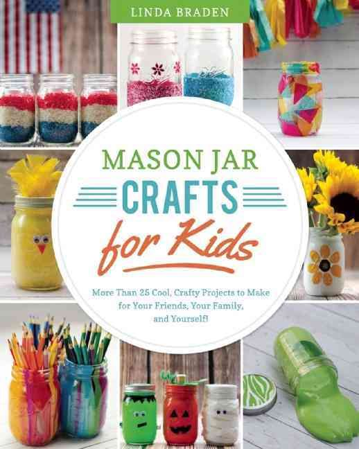 Mason jars are no longer just for canning. Today we use them to drink from, to cook inside, andwith almost limitless possibilitiesto craft with. In this fabulous new book, Linda Braden, author and own