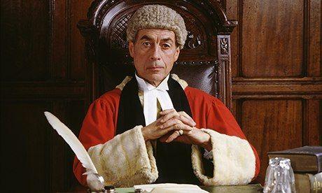 An English judge.