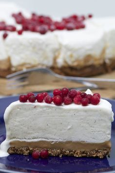 Frusen cheesecake på kola & pepparkaksbotten | Fikastunder | Bloglovin'