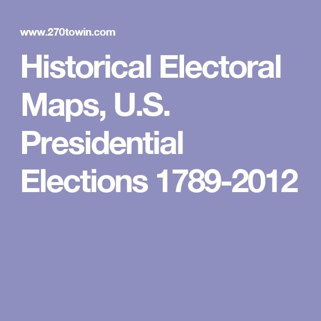Best Presidential Election Map Ideas On Pinterest - Election map us historical