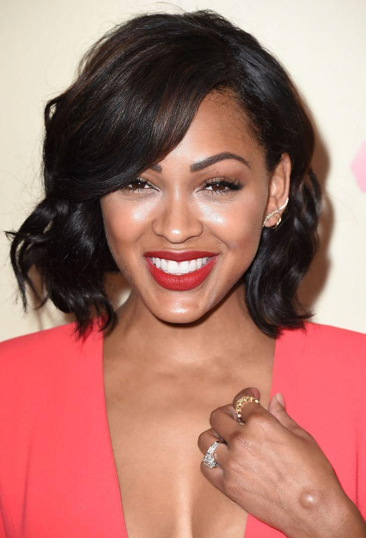 the hottest bob haircuts of the moment: meagan good
