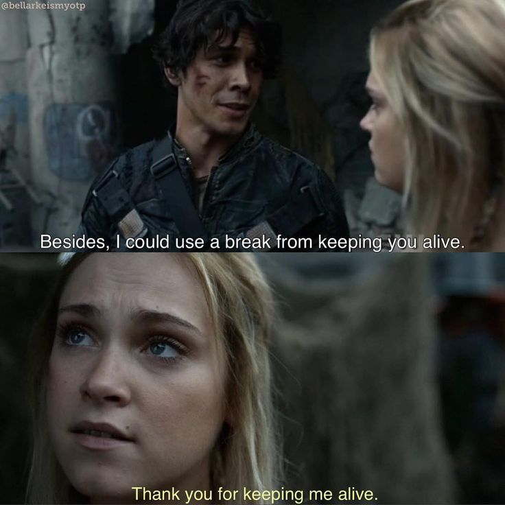 why are you doing this to us? I can't take it anymore just love each other already! 4x01 #bellarke #the100