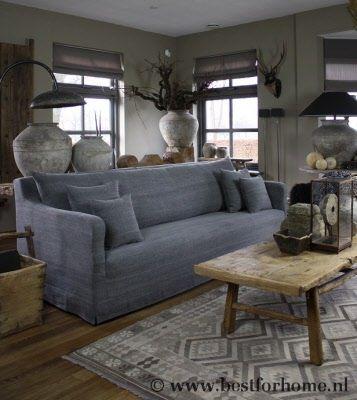 sobere bank beau stoer landelijk wonen best for home unieke meubels oud hout…