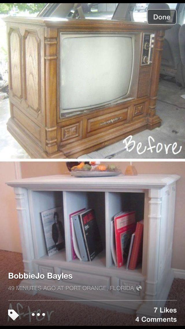 Recycle tv | Repurposed ♻️ | Pinterest