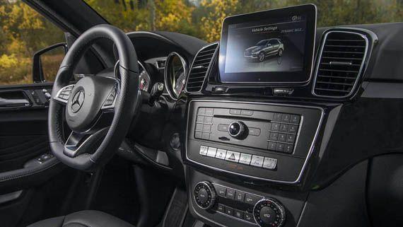 Интерьер внедорожника Мерседес-AMG GLE43 2017 / Mercedes-AMG GLE43 2017